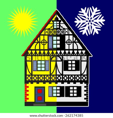 Home Energy Audit. Energy Assessments identify opportunities to reduce energy expenditure during summer and winter - stock photo