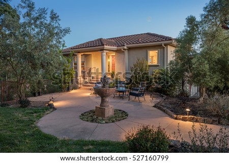 Twilight Home luxury home stock images, royalty-free images & vectors | shutterstock