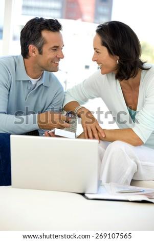 Home Finances - stock photo