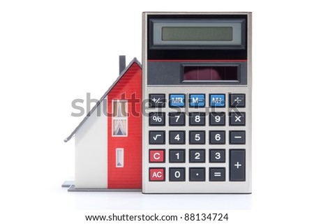 Mortgage calculator stock images royalty free images for Home building costs calculator