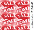 Home For Sale Background, See Vector Also In My Portfolio - stock photo