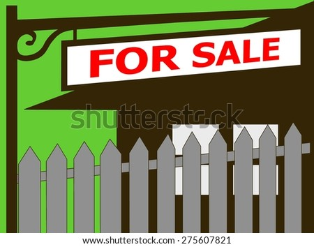 Home for sale real estate Sign icon house for sale, for rent, sold, open house - stock photo