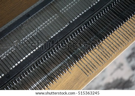 Home hand knitting machine