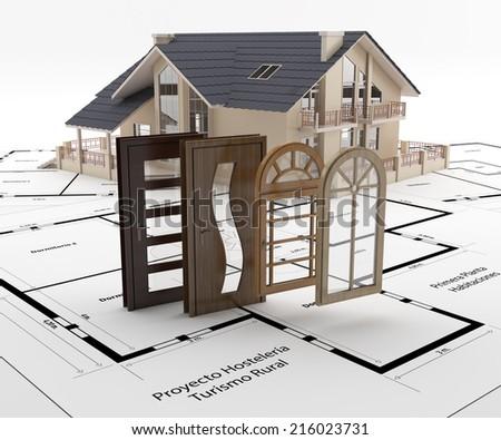 Home Improvement - stock photo