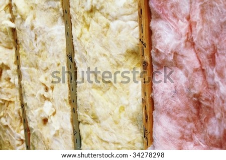 home insulation - stock photo
