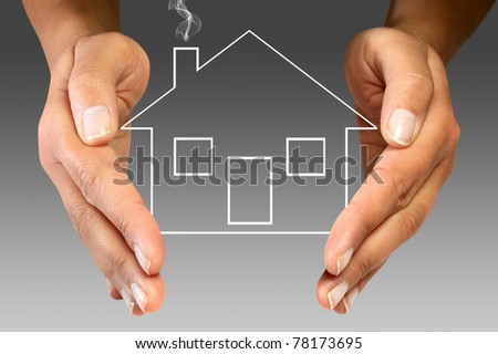 Home insurance - stock photo