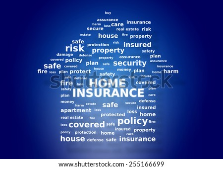 Home insurance concept - stock photo
