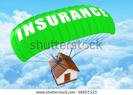 Home Insurance concept - stock photo