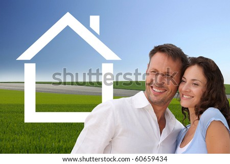 Home investment - stock photo