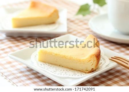 Home made cheese cake  - stock photo