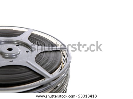 Home movie film reels 1950 s stock photo royalty free 53313418 home movie film reels from the 1950s altavistaventures Choice Image