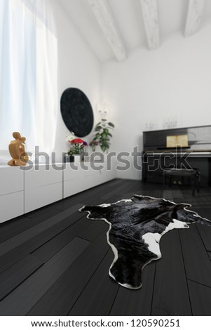 Home of a musician - stock photo