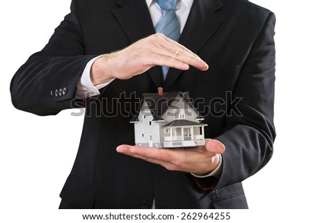 Home, offer, business. - stock photo