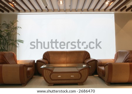 Home, office or hotel interior design - stock photo