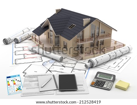 Home purchase - Real Estate - stock photo