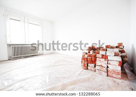 Home renovation - stock photo