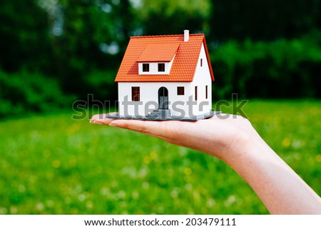 Home rental concept - stock photo