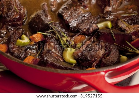 Homemade Beef Stew - stock photo