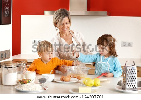 Homemade cooking - stock photo