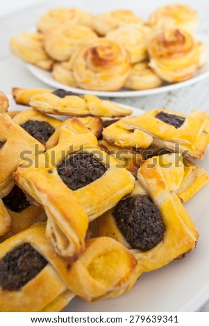 Homemade Danish Pastry - stock photo