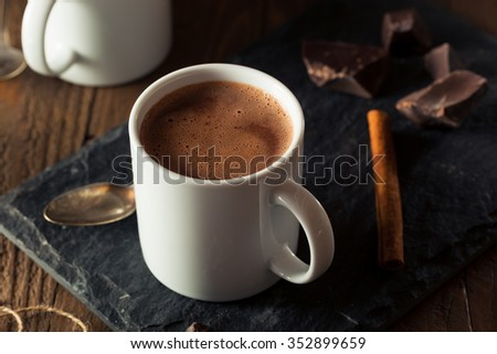 Homemade European Drinking Chocolate Ready to Drink