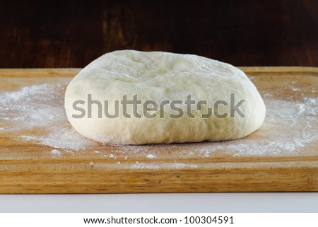 Homemade french bread dough