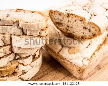 Homemade Gluten Free Bread - stock photo