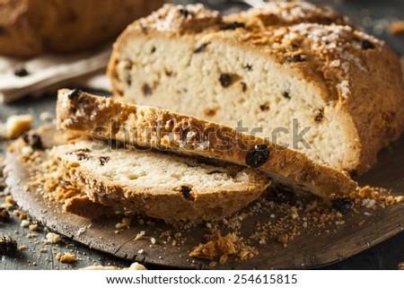 Homemade Irish Soda Bread for St. Patrick's Day - stock photo