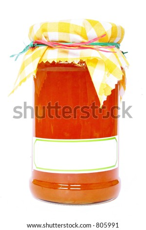 Homemade marmalade - stock photo