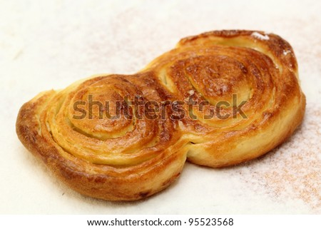 Homemade pastry