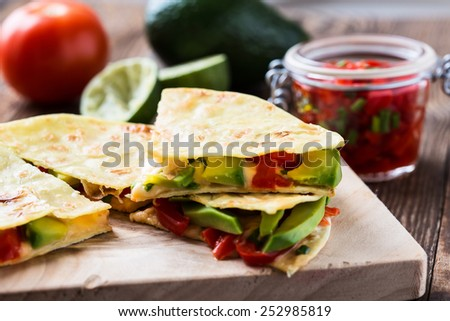 Avocado Salsa Stock Photos, Images, & Pictures | Shutterstock