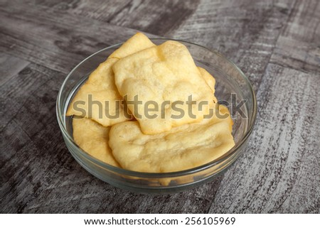 Homemade Snack - stock photo