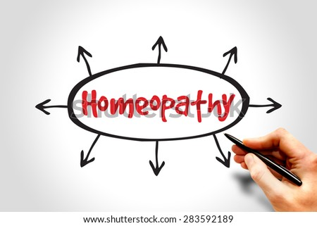 Homeopathy, health concept - stock photo