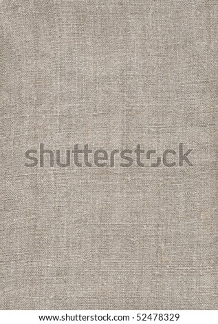 Homespun rural linen canvas of manual job, 50th years, Ukraine - stock photo