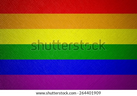 homosexual texture flag - stock photo