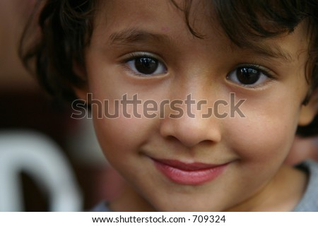 Honduran Boy Smiling