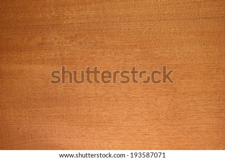 Honduras mahogany (big-leaf mahogany (Swietenia macrophylla),) wood texture. Sought after wood for guitar body and neck making. Sharp to the corners.  - stock photo