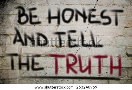 Honest Concept - stock photo