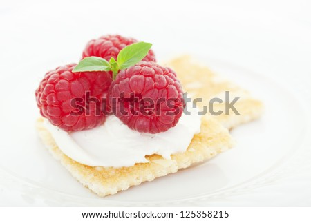 Appetizer Cheese Crackers Plate Stock Photos, Images ...