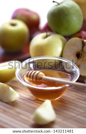 Honey and apples