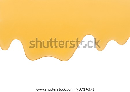 Honey background drip
