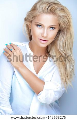 Honey blond - stock photo