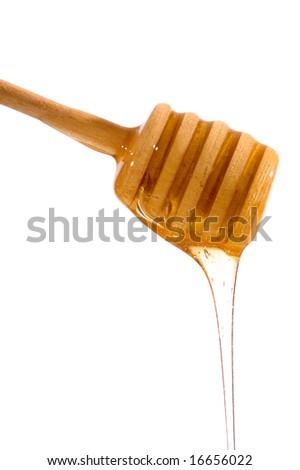 honey drizzle - stock photo