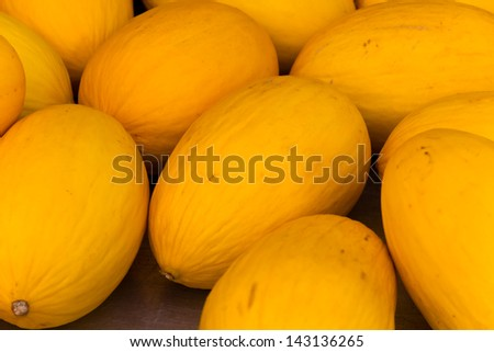 Honey Melon - stock photo