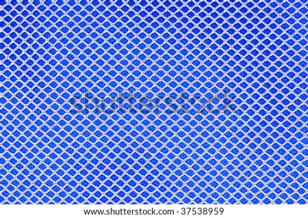 honeycomb pattern fabric background - stock photo