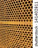 Honeycomb radiator. - stock photo