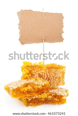 Honeycomb with tag