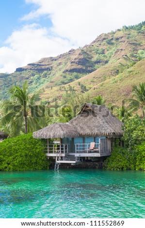 Honeymoon destination - stock photo