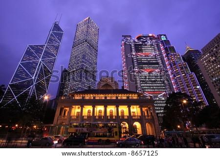 Hong Kong Central - stock photo
