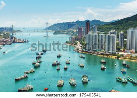 Hong Kong day - stock photo